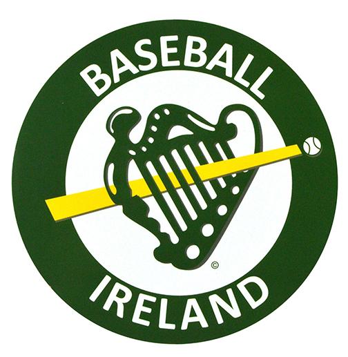 Baseball Ireland Car Sticker Logo
