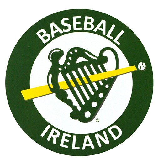 Baseball Ireland Car Sticker Logo