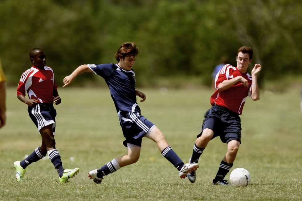 action athletes ball blur