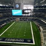 ARLINGTON, USA - SEP 15, 2015: Interior view of the AT&T Stadium, formerly known as Cowboys Stadium in Arlington. Texas, United States [Photo Credit; David J. Maldonaldo on Shutterstock.com]