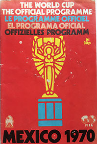Mexico 70 Official Programme