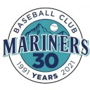 Mariners Baseball Club 30th Anniversary Logo 2021