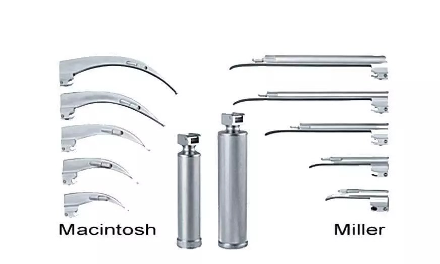 Re-Useable Laryngoscope Handle