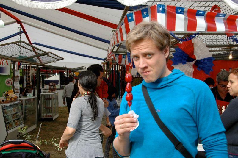 Jordbær På Pinne Eirin And Lars Life In Chile