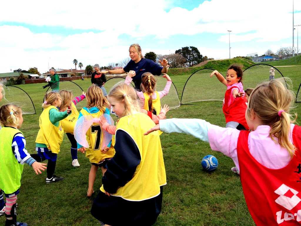 Eir Soccer Becca Todd kids practice IMG_3268