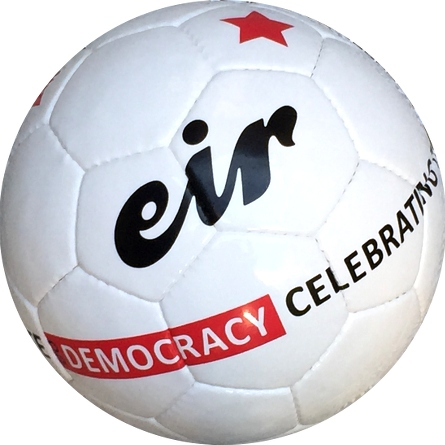 Eir soccer ball Do Democracy