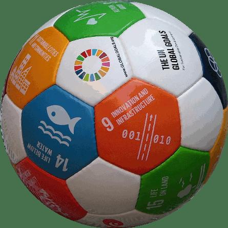 Soccer ball Eir Global Goals 2