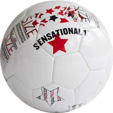 Soccer ball Sensational 1 white 01