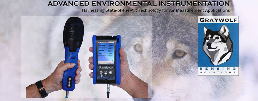 Calibration Center of GrayWolf Air Quality Meters