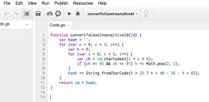 google-drive-script-editor