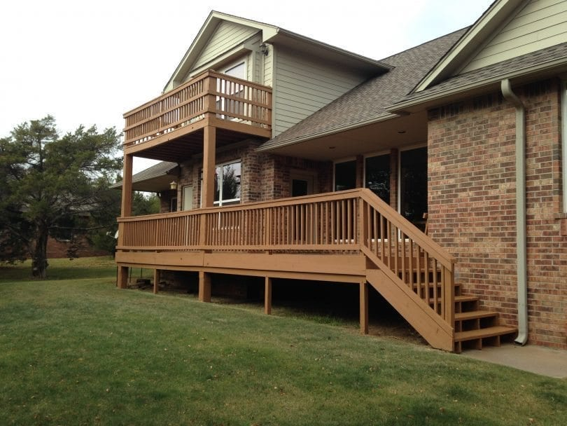 Balcony and Deck