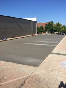 Commercial concrete repair.