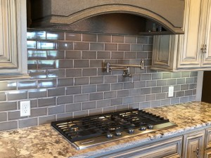 New Tile Backsplash