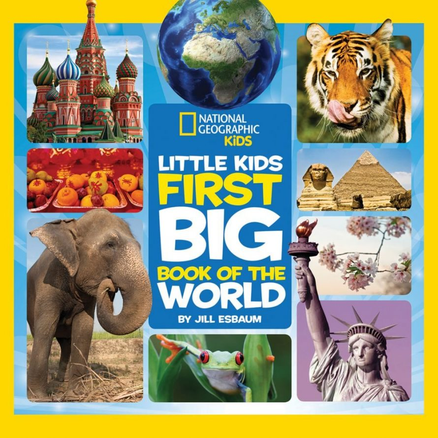 Little Kids First Big Book of the World by Elizabeth Carney