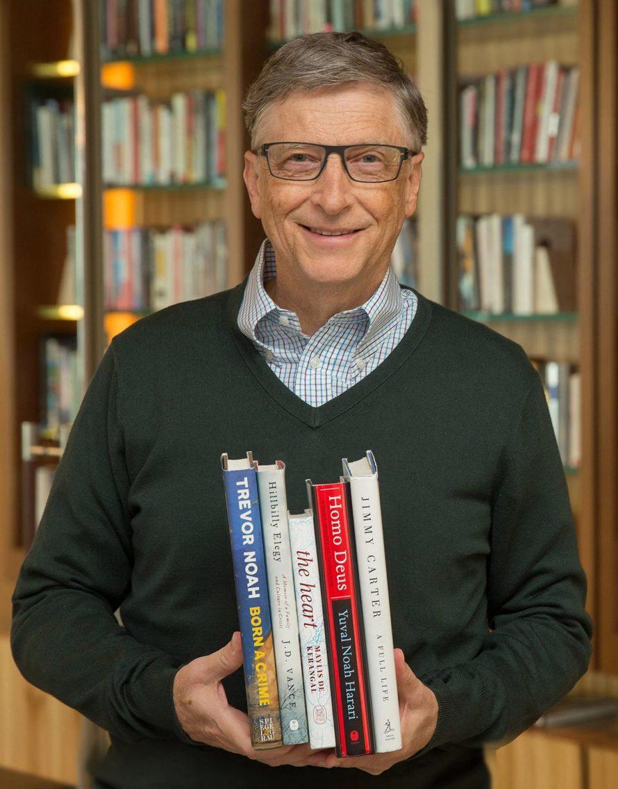 Bill Gates' Summer Reading Picks for 2017