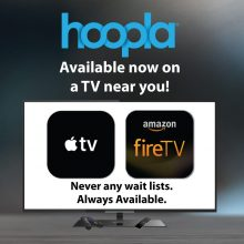 Hoopla is Now on Apple TV and Fire TV