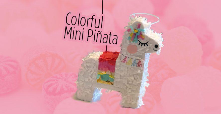 Colorful Mini Piñata