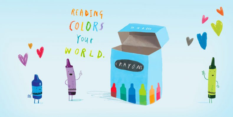Summer Reading 2021: Color Your World