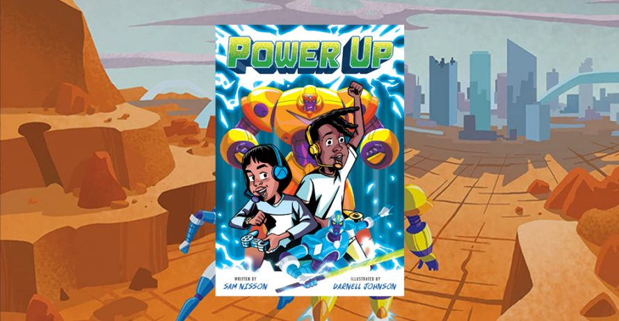 3rd-5th Grade Graphic Novel Book Club: Power Up