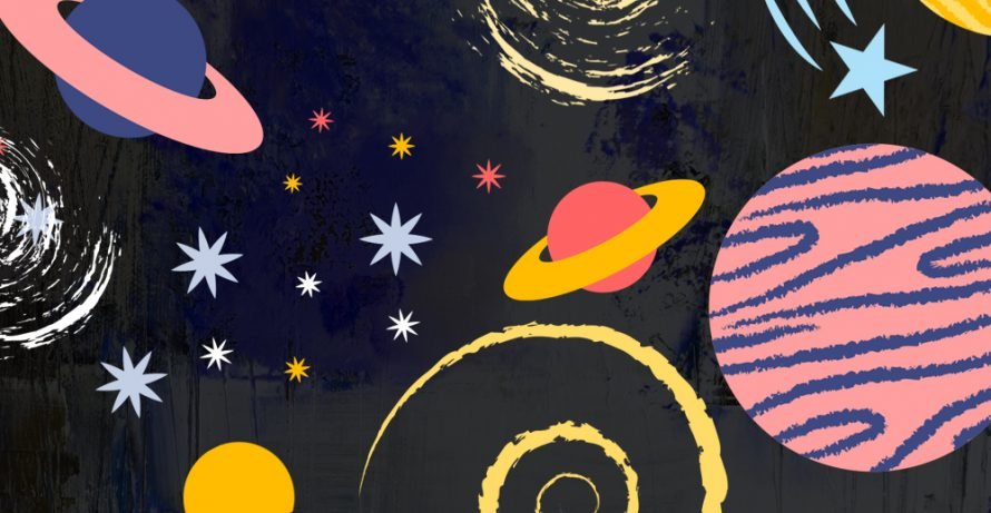 Outer Space Storytime and Craft