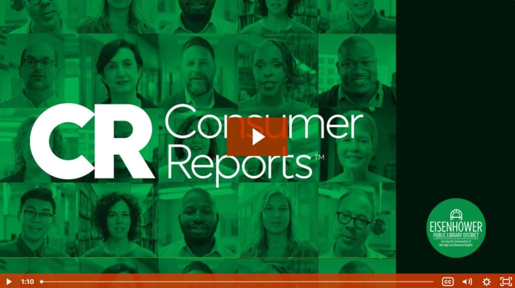 Consumer Reports Video