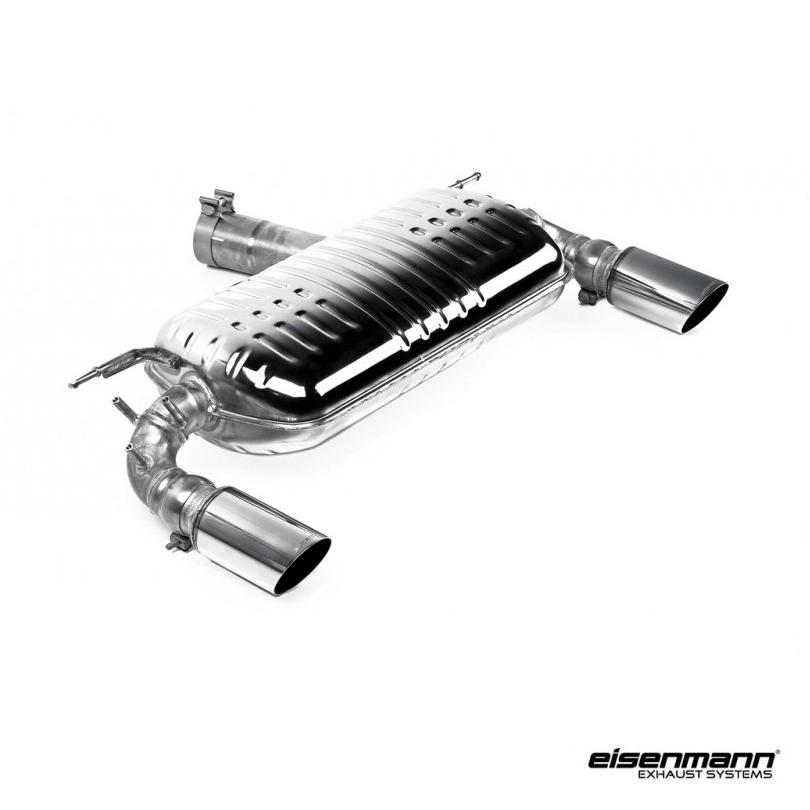 eisenmann bmw f32 f33 f36 435i performance exhaust 2 x 90mm