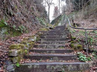 Felsenpfad, Trier