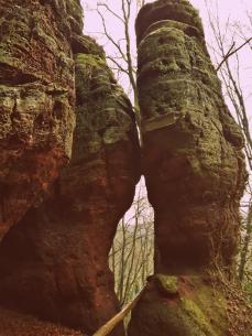 Felsenpfad Rundweg Kastel-Staadt