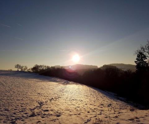 Traumschleifen zum Trailrunning (im Schnee!!!) Teil II