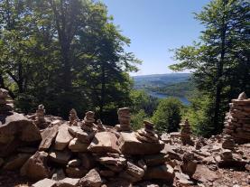 Ausblick auf Nonnweiler ...