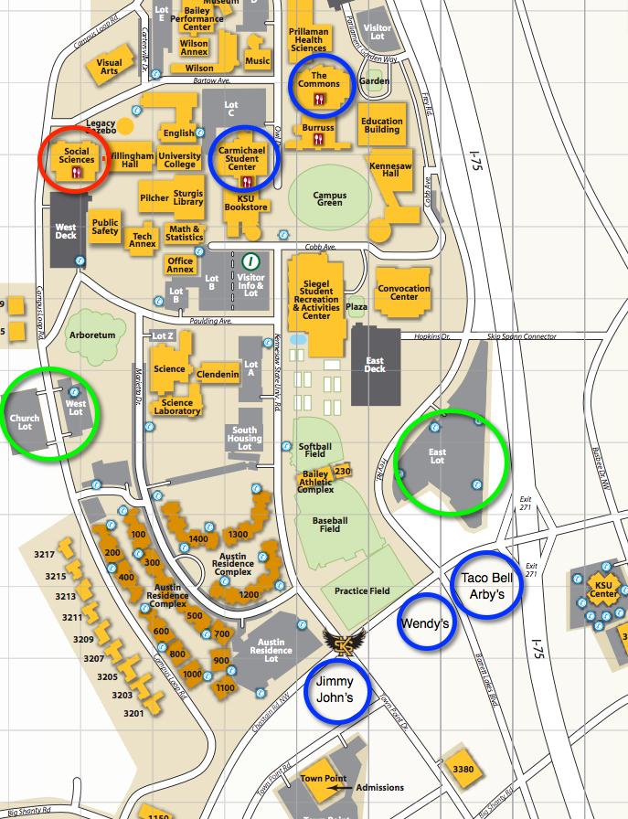 Kennesaw State University Map : kennesaw, state, university, FlipCon1, Atlanta