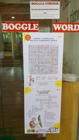 Roald Dahl Word search and Cross Word