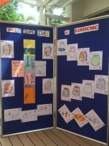 Colouring works by Primary