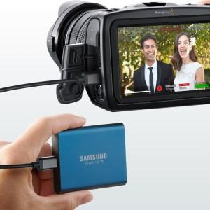 Blackmagic Pocket Cinema Camera 4Kオススメの外付けSSDはこれ?