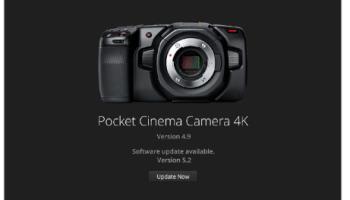 Blackmagic Camera 6 2アップデートが公開されました。(BMRAWをサポート