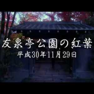 友泉亭公園をBmpcc4Kで撮影してきました。