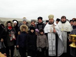 Жители Приморско-Ахтарского района в праздник Крещения Господня совершили крестный ход