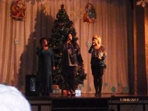 В поселке Первомайском и хуторе Коржи встретили Рождество Христово