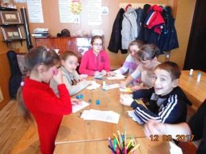 Занятие детской студии «Лучик» посвящено празднику Сретения
