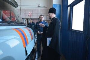 В Тимашевске прошёл «Круглый стол» с участием руководства ГУ МЧС и духовенства