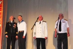 В ЦНК «Казачье подворье»прошел концерт посвященный освобождению Ленинградского района от немецко-фашистских захватчиков