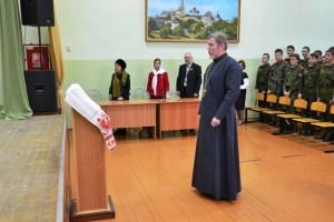 В Ейский казачий кадетский корпус прибыла делегация краевой общественной организации «Творческий союз иконописцев»