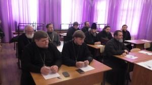 В храме Архистратига Михаила города Ейска состоялось общее собрание духовенства Ейского благочиния