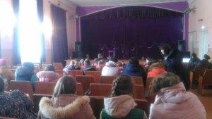 В Доме Культуры хут. Западного Уманского благочиния прошла праздничная программа