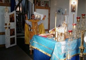 В станице Челбасской совершена миссионерская Божественная литургия