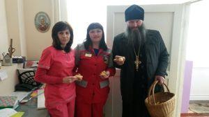 Встреча в храме святых мучениц Веры, Надежды, Любови и матери их Софии села Красное