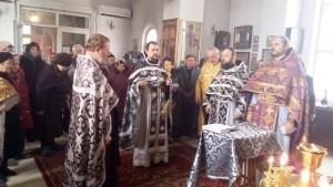 Миссионерская Литургияв Приморско-Ахтарском благочинии