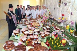 Освящение пасхальной продукции в г.Тимашевске