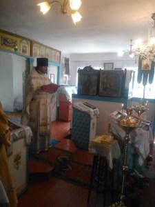 В храме Покрова Божией Матери станицы Степной прошла первая  миссионерская Литургия