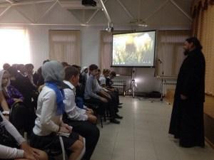 Тимашевский храм посетили ученики